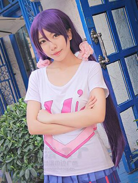 Аниме косплей Футболка Love Live Косака Хонока 3