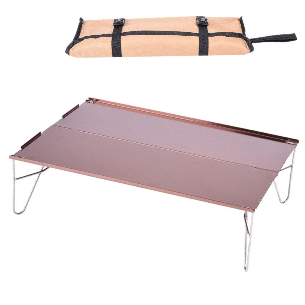 Lightweight Desk: Outdoor Folding Table Ultra Light Aluminum Alloy Camping