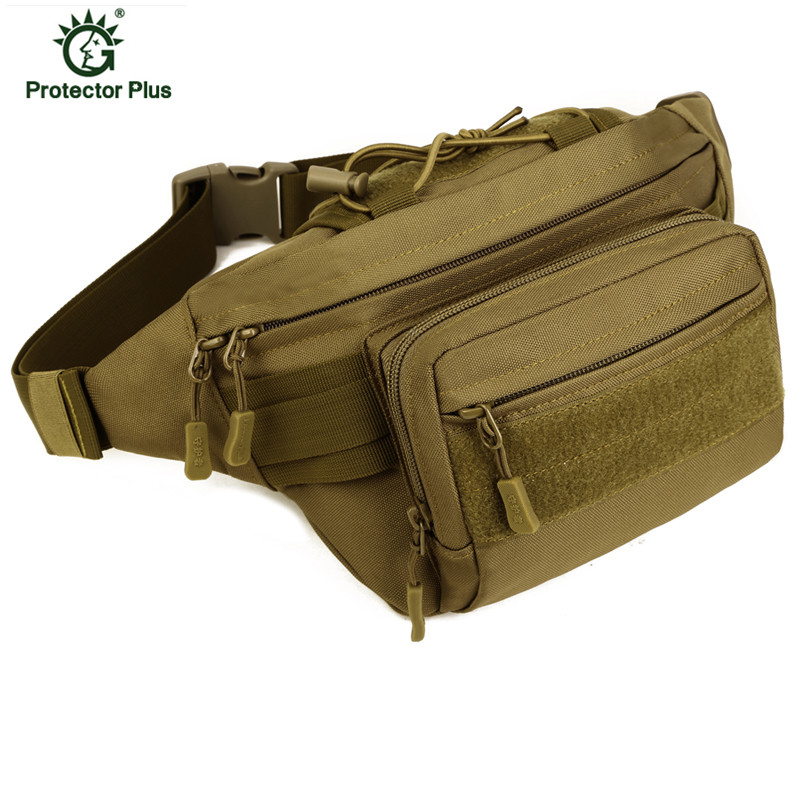 Mulheres E Homens Táticas Militares Molle Saco Pacote de Cintura Impermeável Saco Da Cintura Fanny Pack Equipamento Militar S46