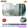 Car Accessories silver  front window sunshade Foils Windshield Visor Cover UV Protect Car window Film sun shade  1400*700mm