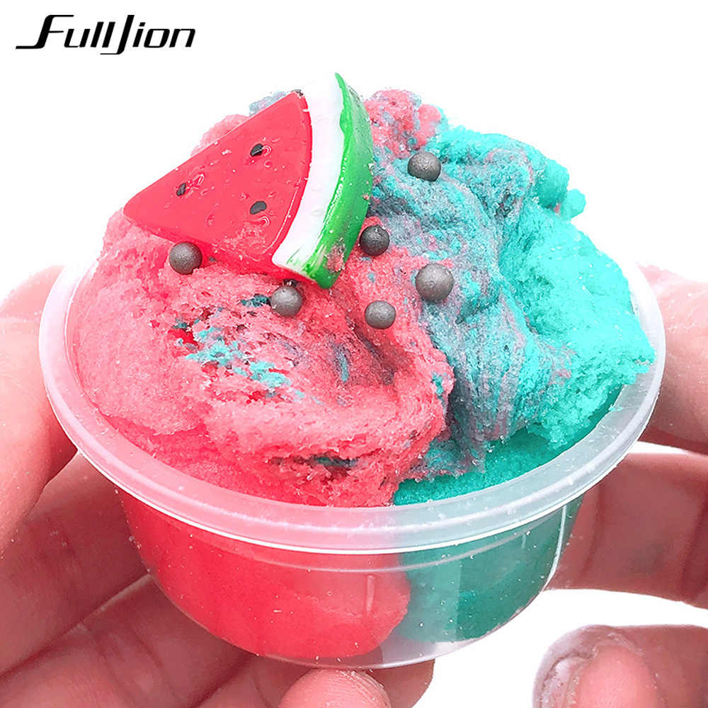 Fulljion Slime Popular Toys Plasticine Kits Slime Fluffy Modeling Soft Clay  Funny Super Light Clay Charm Putty Accessories