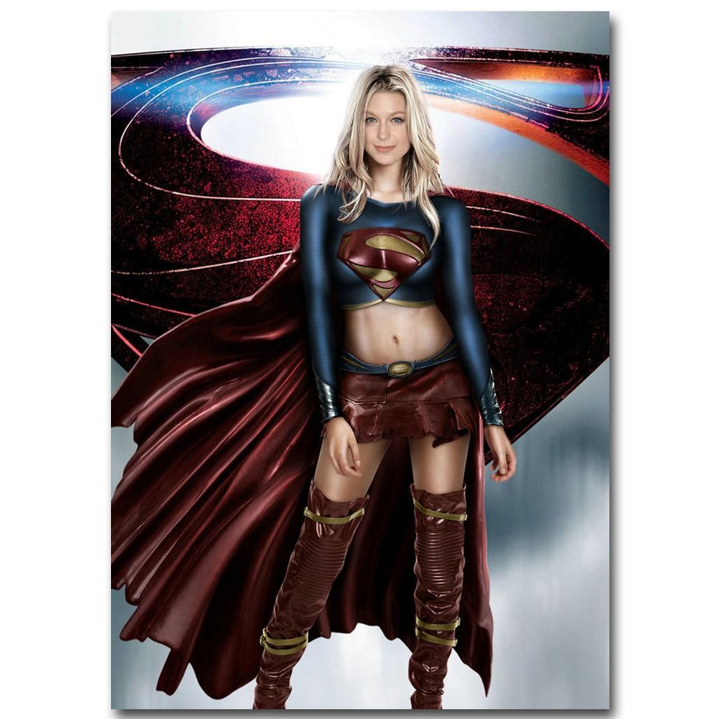 Supergirl TV Series Silk Canvas Poster Print 13x18 24x32 inch