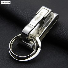 Brand Top Men Car Key Chain Women Waist hanging Metal Keychain High Quality Key Holder Best Gift Jewelry K1179(China)