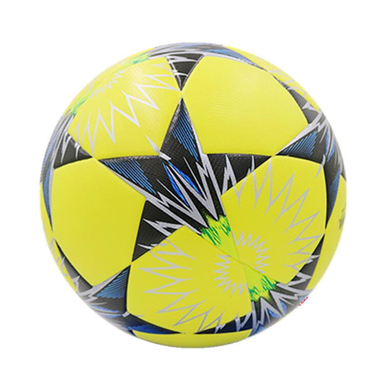 High Quality Champions League Official Size 5 Seamless Soccer ball Anti-slip PU Sports Training Star Football For Youth