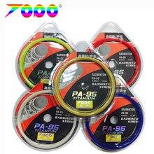 Durabilidade topo pa95 badminton string 10m