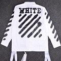 2016 зима военная форма Полосатый Леттерман Varsity Куртки Pyrex Видения мужской пиджак от белого вергилий abloh