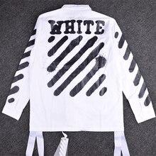2016 winter military uniform Striped Letterman Varsity Jacket Pyrex Vision men's jacket off white virgil abloh