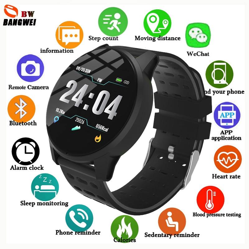 LIGE Consumo de calorias distância Pedômetro Inteligente pulseira Heart rate monitor de esporte eletrônico digital relógio mensagem de Chamada