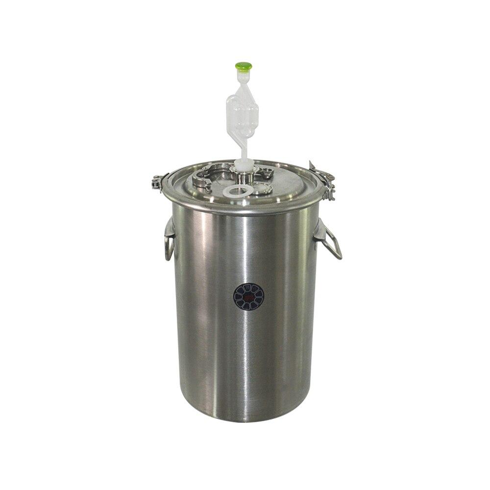 20L vědro 304 z nerezové oceli Barel na domácí vaření Fermentace Barel Víno a pivo Barel Svorka Design Horní otevřená nádoba