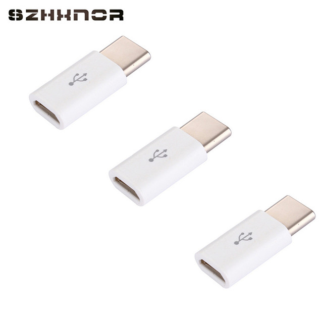 3 pcs micro usb type c adaptateur usb c c ble chargeur. Black Bedroom Furniture Sets. Home Design Ideas