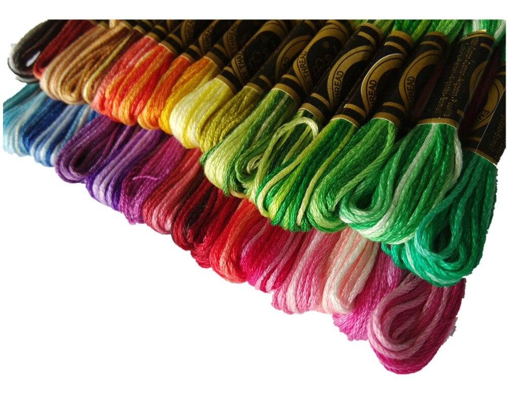 Free Shipping Similar Dmc Color Variation Variegated Cotton