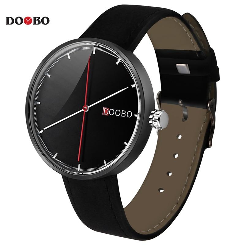 DOOBO 2018 Fashion Business Wrist Watch Men Top Brand Luxury Famous Male Clock Quartz Watch for Men Hodinky Relogio Masculino fashion business men