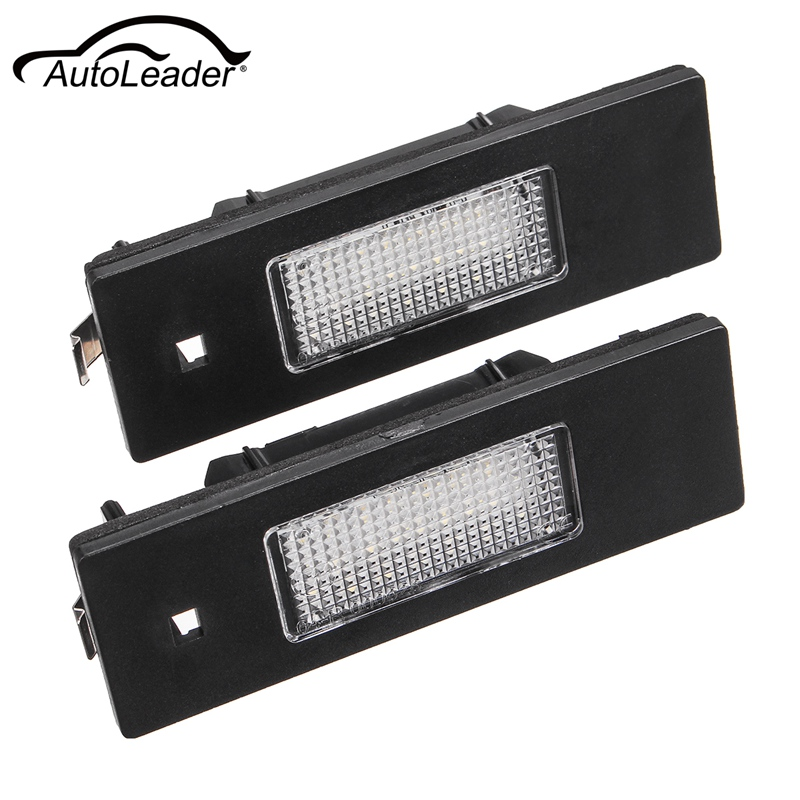 #46408006 #46786572 Pair 24-SMD 6000K White LED License Plate Lights For Fiat/Alfa Marea Romeo GT Spider 147 156 159 166 1996 alfa romeo 147 156 gta gt 166 gtv spider lancia thesis v6 forged connecting rod high performance free shipping quality warranty