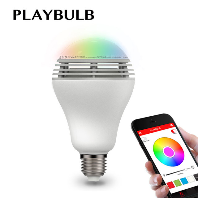 PLAYBULB Bluetooth Speaker Smart Dimbare Led lampen Kleur ...