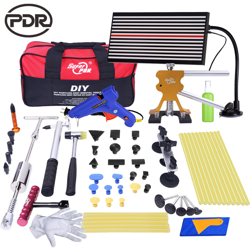 PDR Tools Dent Removal Paintless Dent Repair Tools Removing Dents Without Painting LED Lamp Reflector Board