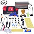 PDR инструменты для удаления вмятин  инструменты для ремонта вмятин без покраски  светодиодная лампа  рефлектор  набор инструментов