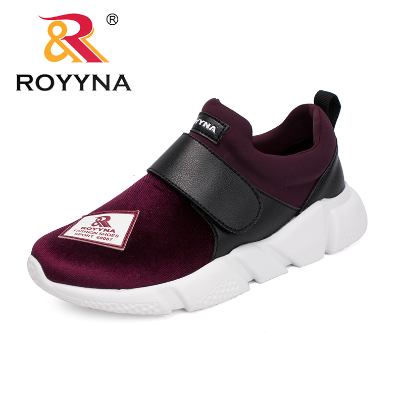 ROYYNA New Popular Style Women Sneakers Shoes Flower Femme Comfort Shoes Slip On Lady Loafers Zapalillas Mujer Thick Heels royyna new cute design women sneakers shoes flower femme casual shoes mesh lady flats outdoor chaussure femme zapatos mujer