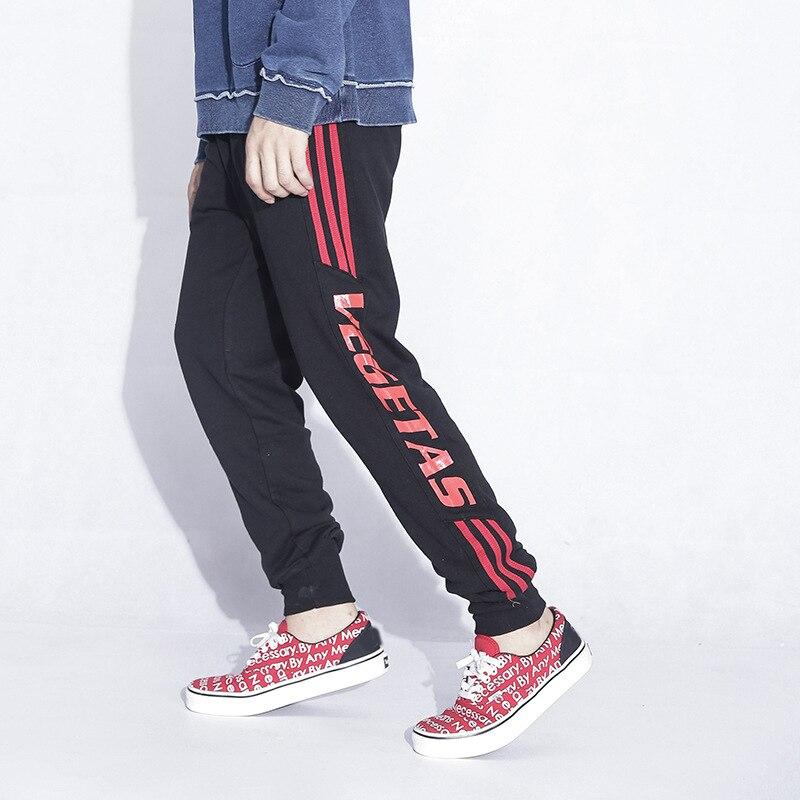 2018 Joggers Pants Men Hip hop letter printing Sweatpants pantalon homme Brand Mens Clothing Autumn Sweat Trousers Britches