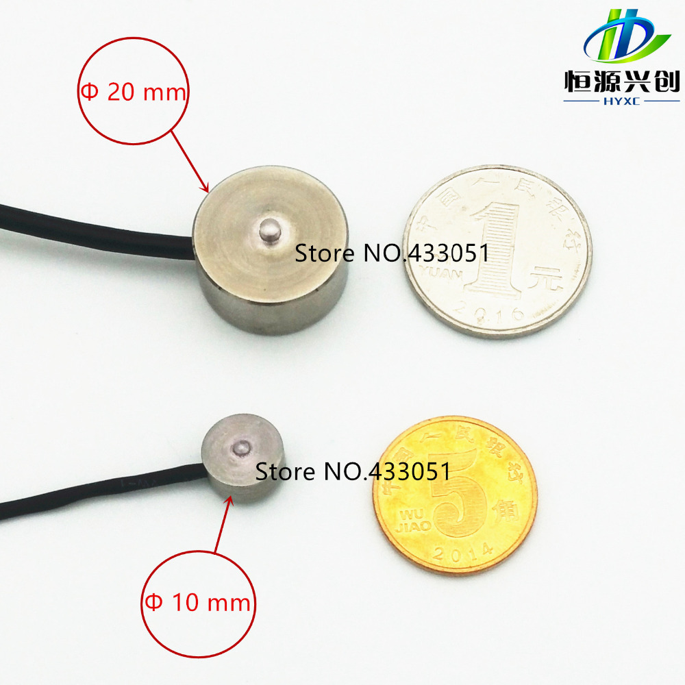 цена на Subminiature load sensor 5/10/20/30/50/100kg micro load cell 100kg mini load sensor 1KN, weighing sensor.