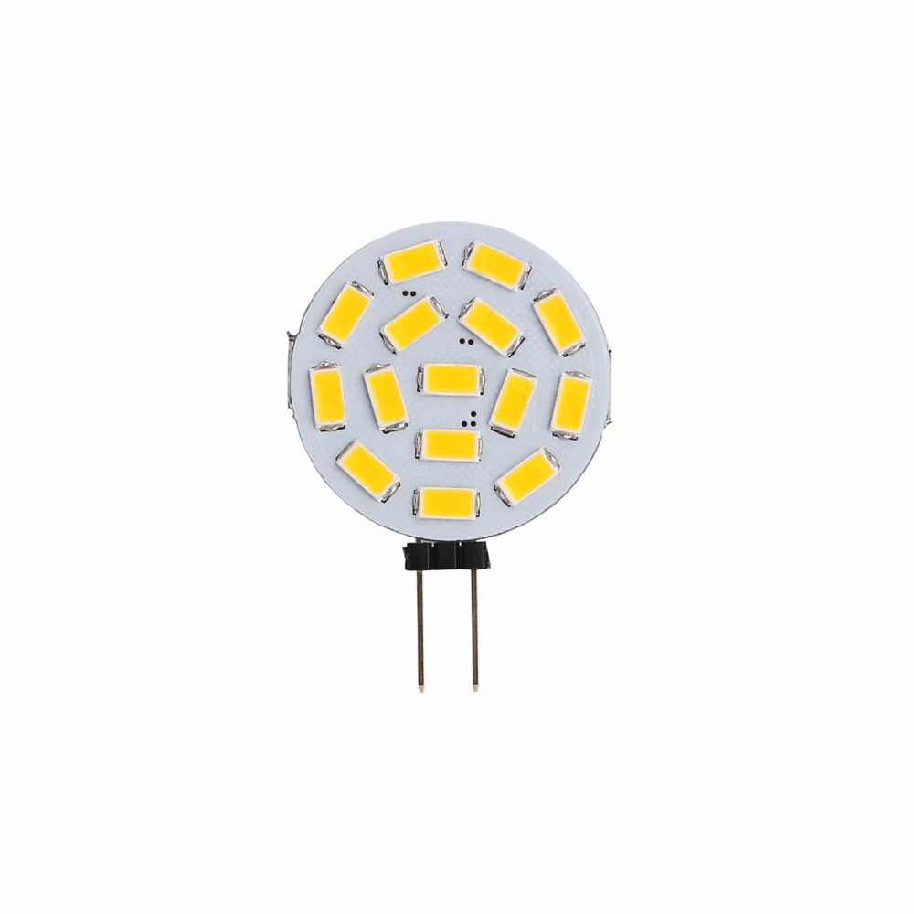 20 pcs/Lot G4 6/9/12/15 LEDs lumière 1 W 2 W 3 W 4 W 5730 SMD lampe éclairage DC 12 V lumière de maïs pour bateau/Automotiv blanc chaud/froid