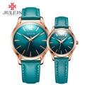 Julius 2017 Весна Новые Дизайнерские Часы Мужчины Женщины Повседневная Наручные Whatch Мода Люксовый Бренд Часы Пара Часы Для Пары JA-983
