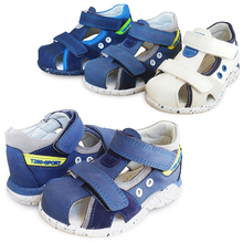 Boy 1pair Summer Orthopedic Children Sandals +inner 13-19cm  Baby Sandals Shoes,Super Quality Kids Soft Shoes