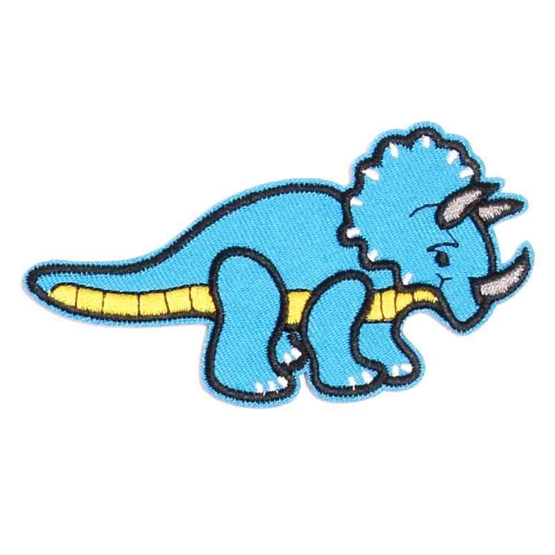 רקום בד דינוזאור לתפור בגדי DIY תיקוני Applique בגדי מעיל תיקון אמנות בית אספקת