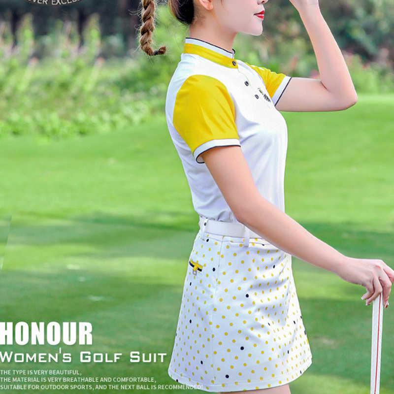 Хлопковая женская юбка для гольфа, короткая женская одежда, уличная спортивная дышащая профессиональная летняя спортивная одежда для отдыха, юбка красного цвета, 4 размера