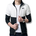 Men's Jacket 2016 Spring New Arrival Men Jacket Stand Collar Fashion Jacket Casual Spring & Autumn Jacket 4 Colors Plus Size 5XL