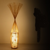Chinese style creative Japanese floor lamp modern simple bamboo living room bedroom club bamboo light ZL253 LU717101