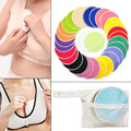 Hot Selling Breastfeeding Pads Nursing Set Reusable Breast Washable Bamboo Fiber Pad with Wash Bag