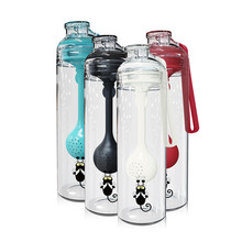 Tea Water Bottle BPA Free Cup Fruit Mug Infuser Juice Shaker Sports Tour hiking Portable Climbing Camp Bottles with infuser