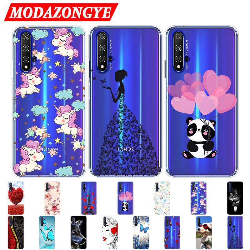 Honor 20 Pro Case Honor 20 Case Silicone TPU Phone Case For Huawei Honor 20 Pro Honor20 Pro 20Pro Honor20Pro Case Soft Cover