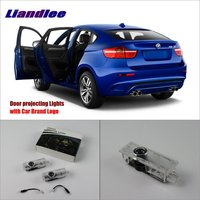LED Car Logo Light Door Welcome Lights Ghost Shadow Projector Lamp For BMW X6 E71 E72