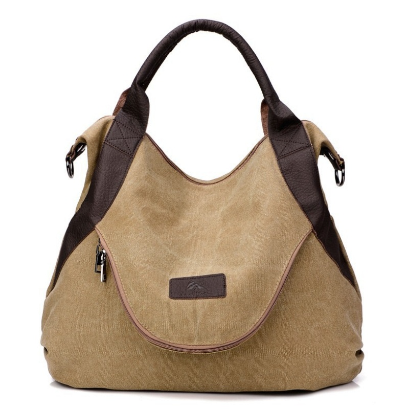 Women Vintage Canvas Handbag Large Capacity Casual Tote Postman Shoulder Bags Crossbody Messenger Bag Autumn Diagonal Big Hobo weiju new canvas women handbag large capacity casual tote bag women men shoulder bag messenger crossbody bags sac a main