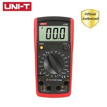UNI-T UT601 Multimeter Modern Professional Capacitance Meters Ohmmeters Capacitor Resistor Transistor Test Continuity Buzzer