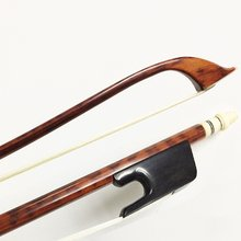 4/4 Snakewood Stick Frog Baroque Style Violin Bow Violin Accessories Natural Black(China)