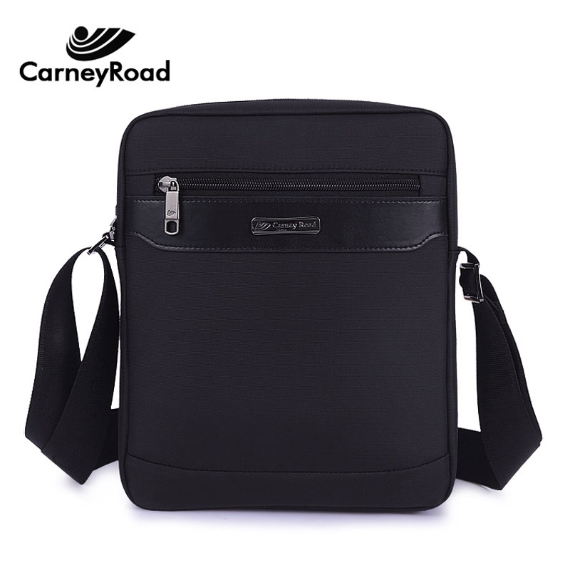 Carneyroad Brand Waterproof Oxford Messenger Bags For Men Business Casual Briefcase Crossbody Bag Men Shoulder Bag