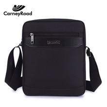 Carneyroad marka su geçirmez Oxford postacı çantası erkekler için iş rahat evrak çantası Crossbody çanta erkek omuz çantası