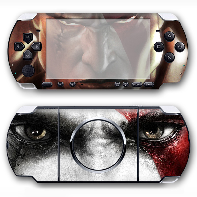 New product protactive vinyl skin sticker for psp 3000 sticker console &controller #TN-P ...