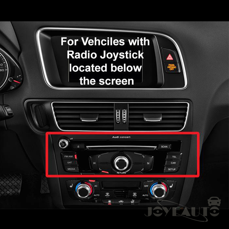 Aftermarket OEM Apple Carplay Android Auto Retrofit 2009-2015 A4 A5 Q5 S5  Non MMI for Audi Car Play with Waze Spotify