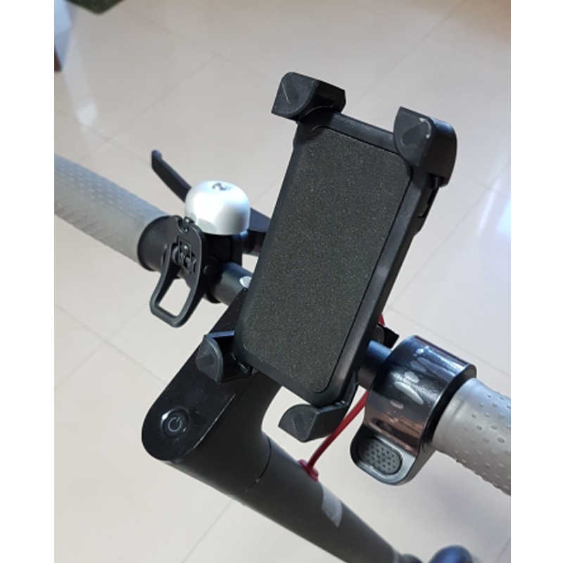 Mobile phone holder Mobile Phone Stand Holder Part Adjustable Anti-Slip for xiaomi m365 electric scooter/e Bike Scooter