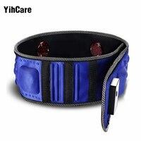 YihCare 220V Electric Vibration Infrared Ray Sauna Waist Slimming Belt Weight Loss Fat Burning Heating Massage Vibrator Massager