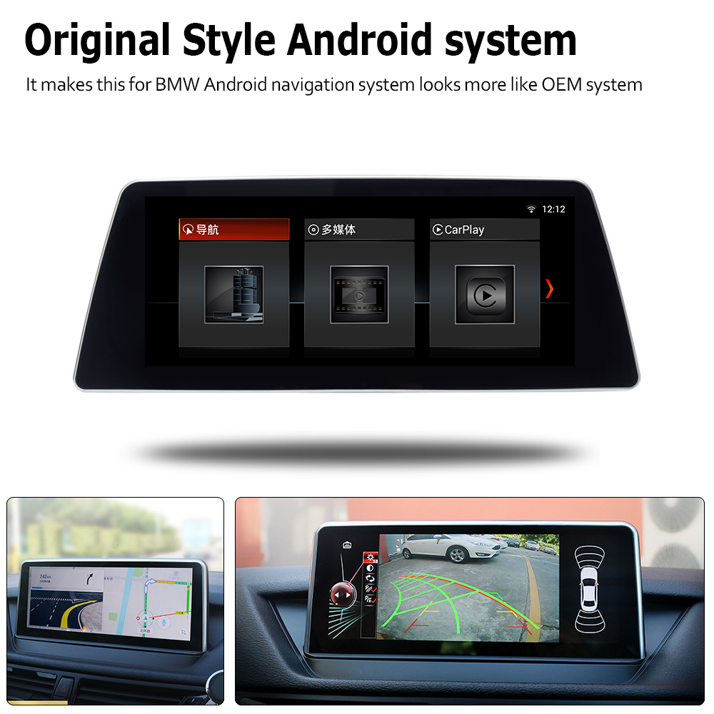 Car Android Touch Screen Multimedia Player Stereo Display navigation GPS For BMW 5 Series G30 2018 2019 EVO Audio Radio Media in Car Multimedia Player from Automobiles Motorcycles