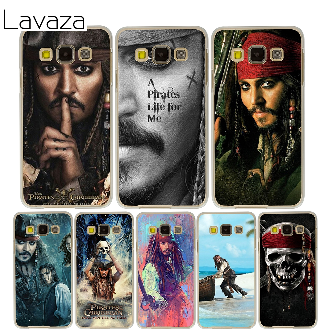 Lavaza Pirates Of The Caribbean Case for Samsung Galaxy A3 A5 2015 2016 2017 A8 Plus 2018 Note 8 5 4 3 2 Grand 2 Prime