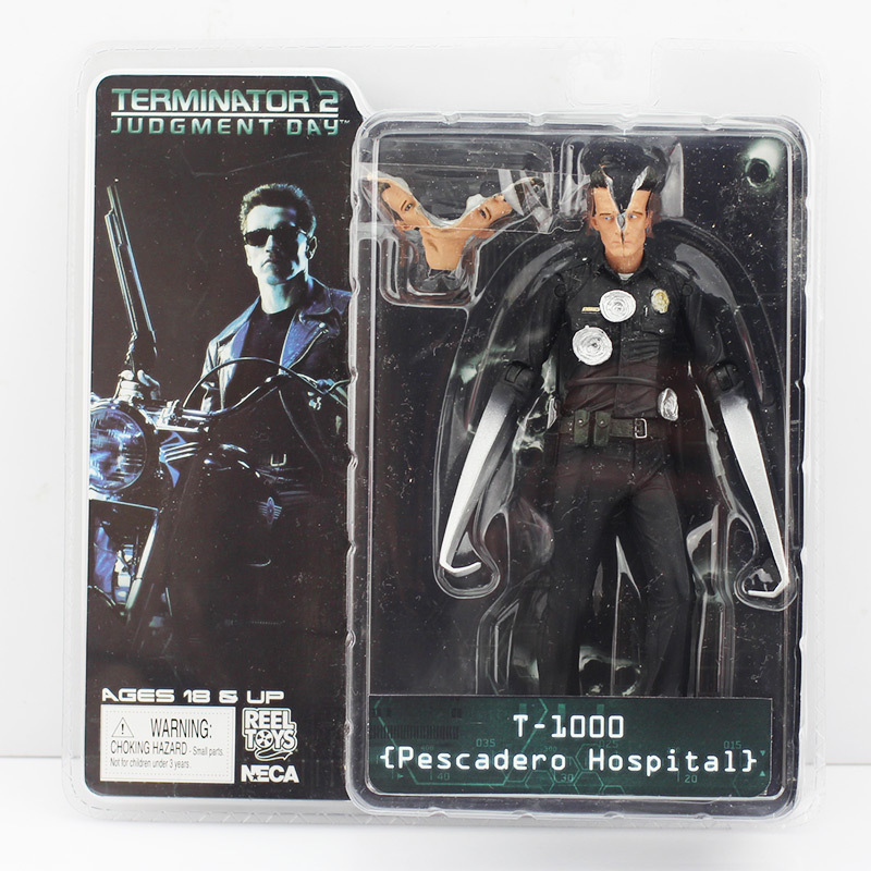 The terminator 1piece 7inch/18cm neca the terminator 2 action figure pescadero hospital...