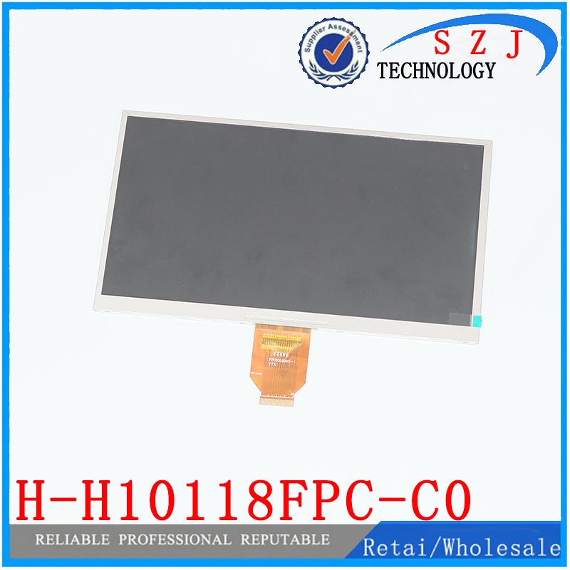 Original 10.1 inch Tablet lcd display H-H10118FPC-C0 40pin LCD screen 1024*600 MID LCD Panel Free shipping 5pcs/lot