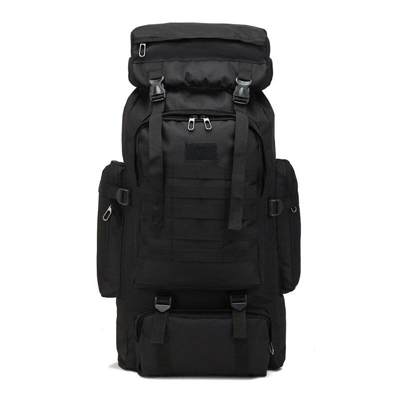 cf15b728d412 [6] Открытый тактический рюкзак альпинизм сумки спортивные Backapcks пеший  туризм кемпинг спортивная сумка двойной плечо посылка 80L купить на  AliExpress