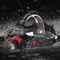 Zoomable Led Motion Sensor Headlamp Headlight Flashlight Torch Camping Light