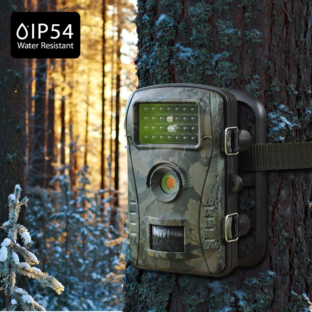940NM Infrared Hunting Camera 1080P Night Vision Trail Camera Trap Outdoor Waterproof Wildlife Game Cameras Hunter Cam цена